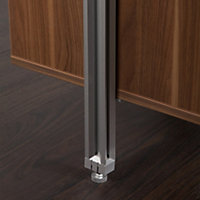 Spacepro Relax Floor to ceiling stanchion (H)2780mm (W)50mm (D)50mm