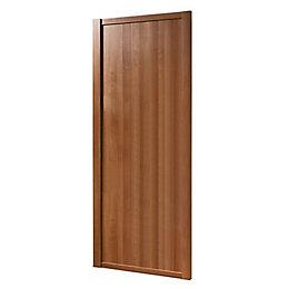Shaker Natural Walnut Effect Sliding Wardrobe Door (h)2220