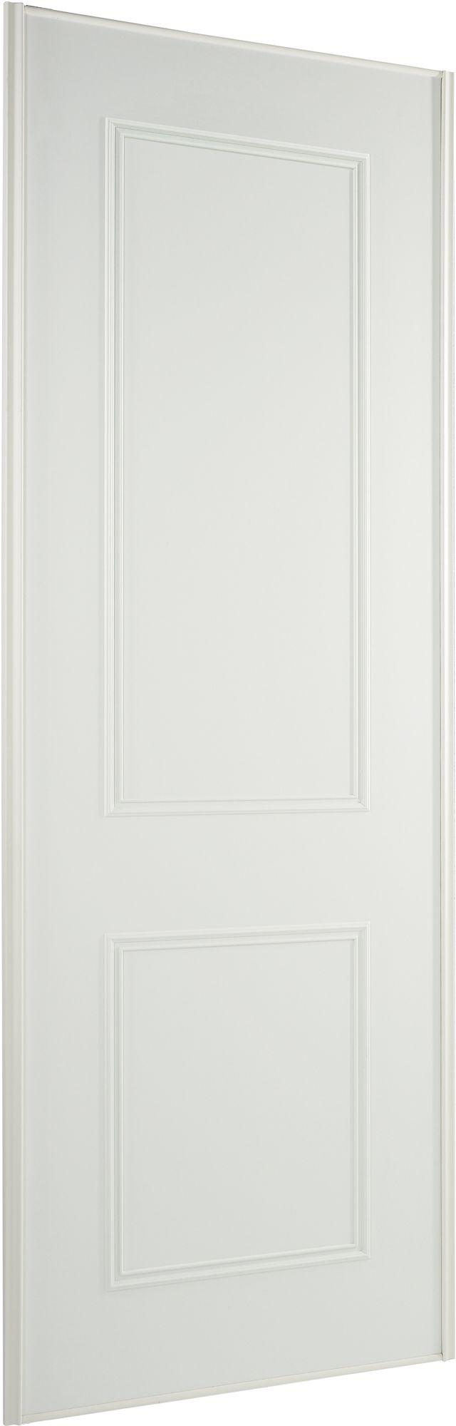 Panel White Sliding Wardrobe Door H2220 Mm W762 Mm Departments
