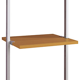 Aura Natural Oak Effect Shelf (L)550mm (D)500mm
