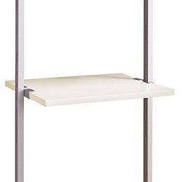 Aura White Shelf (L)550mm (D)500mm