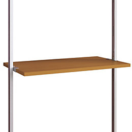 Aura Natural Oak Effect Shelf (L)900mm (D)500mm