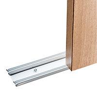 Shaker Sliding wardrobe door track (L)1803mm