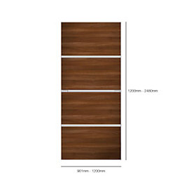 Made to measure Minimalist Contemporary Sliding wardrobe door