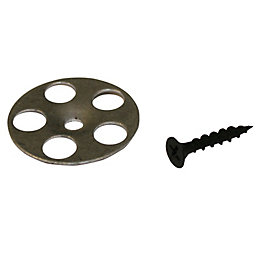 Aquadry Wet Room Washer & Screw (W)25mm (L)45,