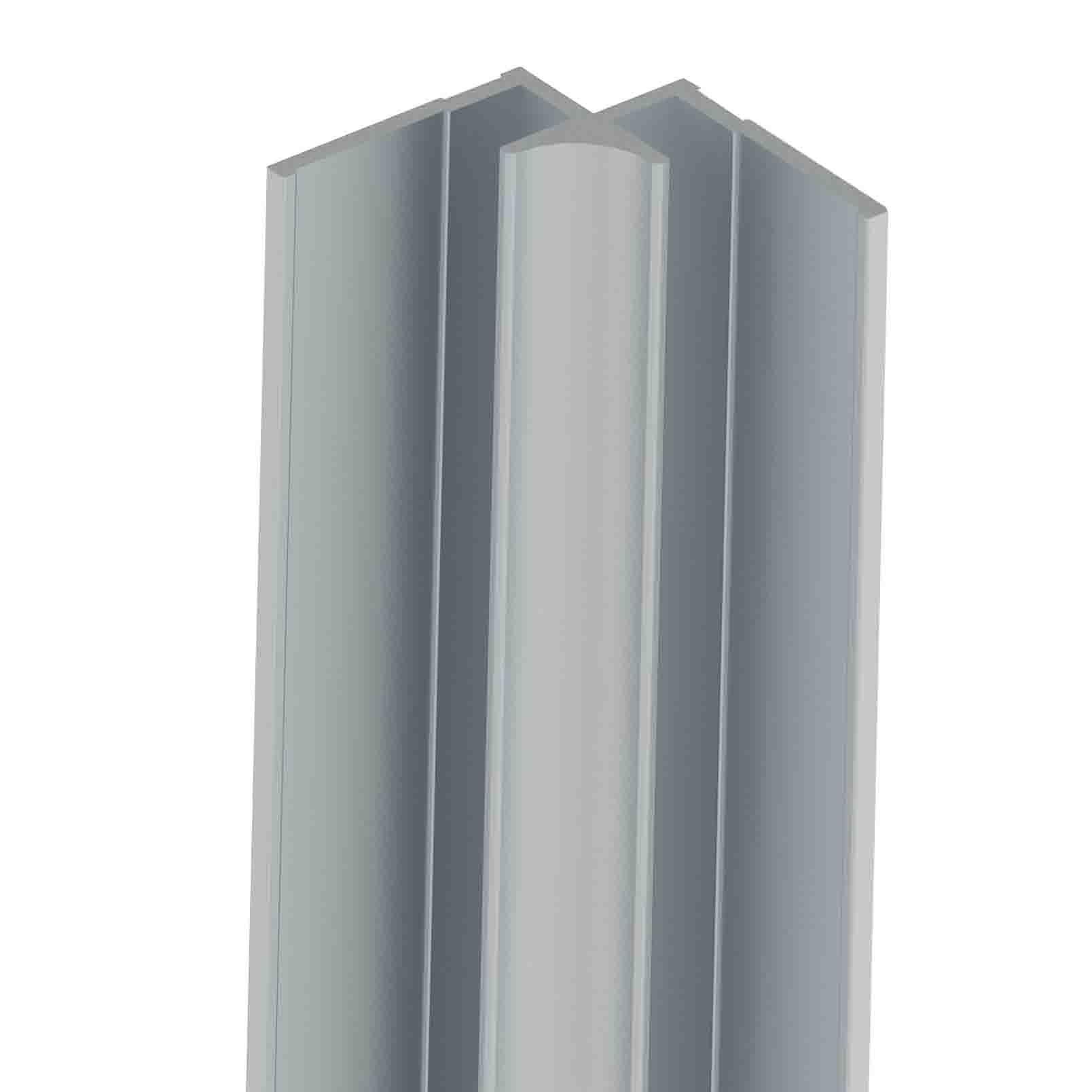 Vistelle Matt Aluminium Kitchen Splashback Internal Corner