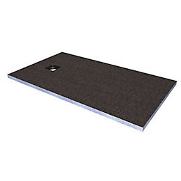 Aquadry End Drain Shower Tray Former Kit (L)1400mm