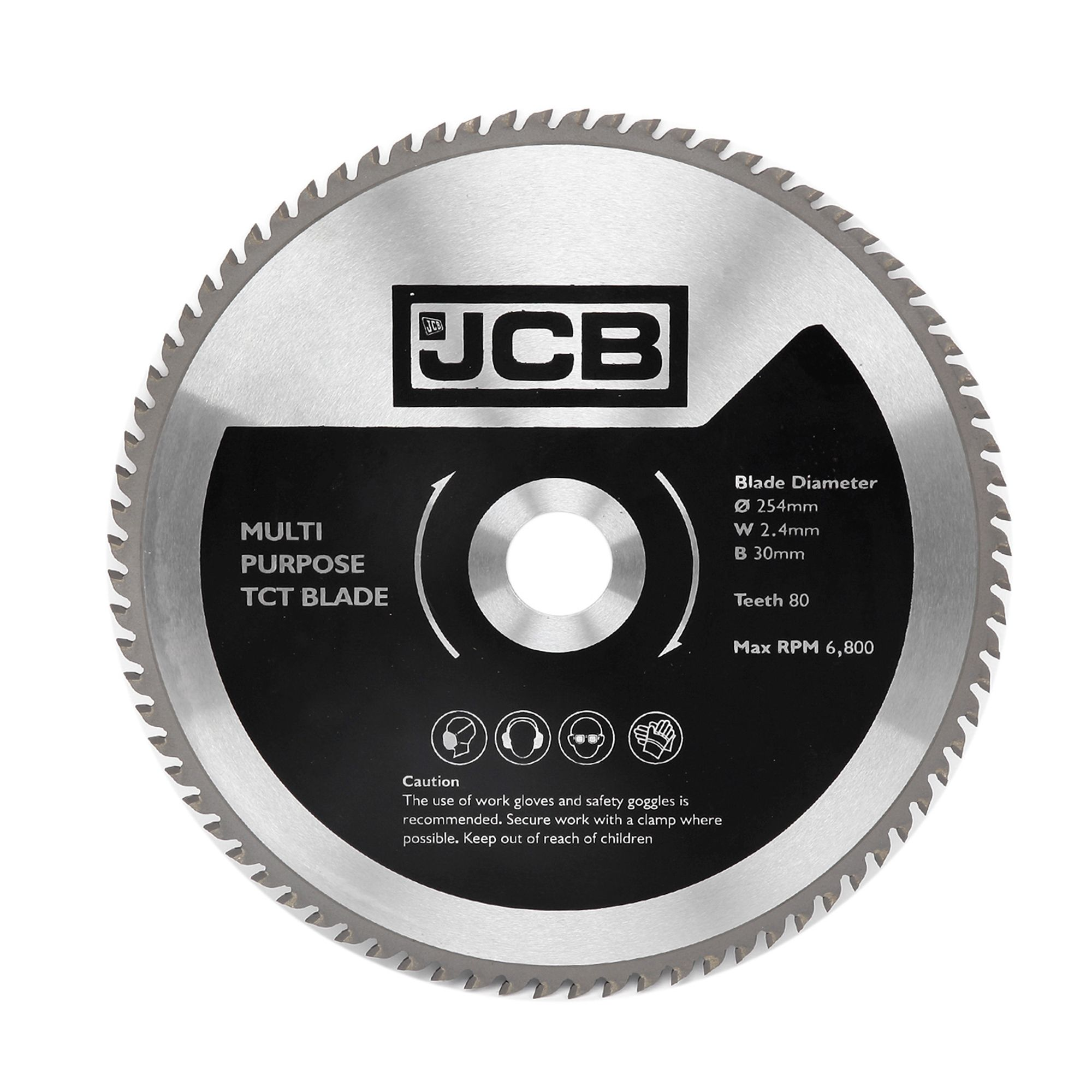 Jcb 80t Tct Blade Dia 254mm Departments Tradepoint