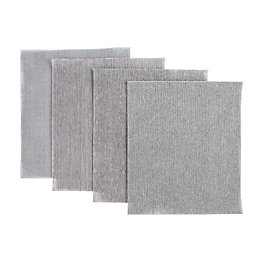 JCB Mixed Grit Mesh Sanding Sheet, Pack of