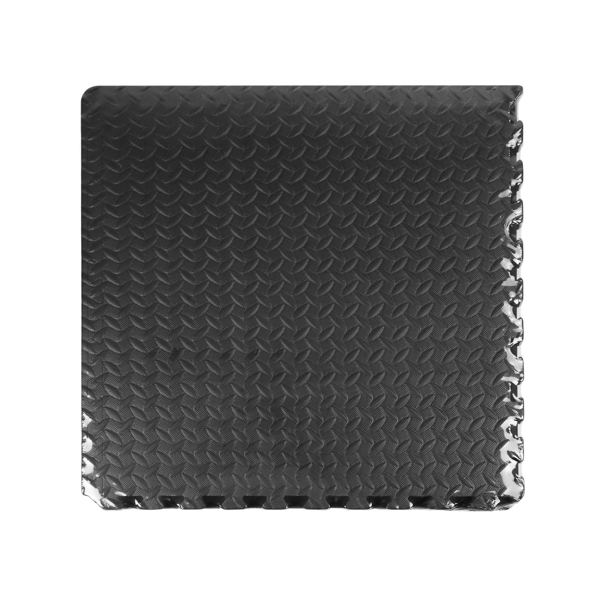 Interlocking Eva Foam Black Floor Mats