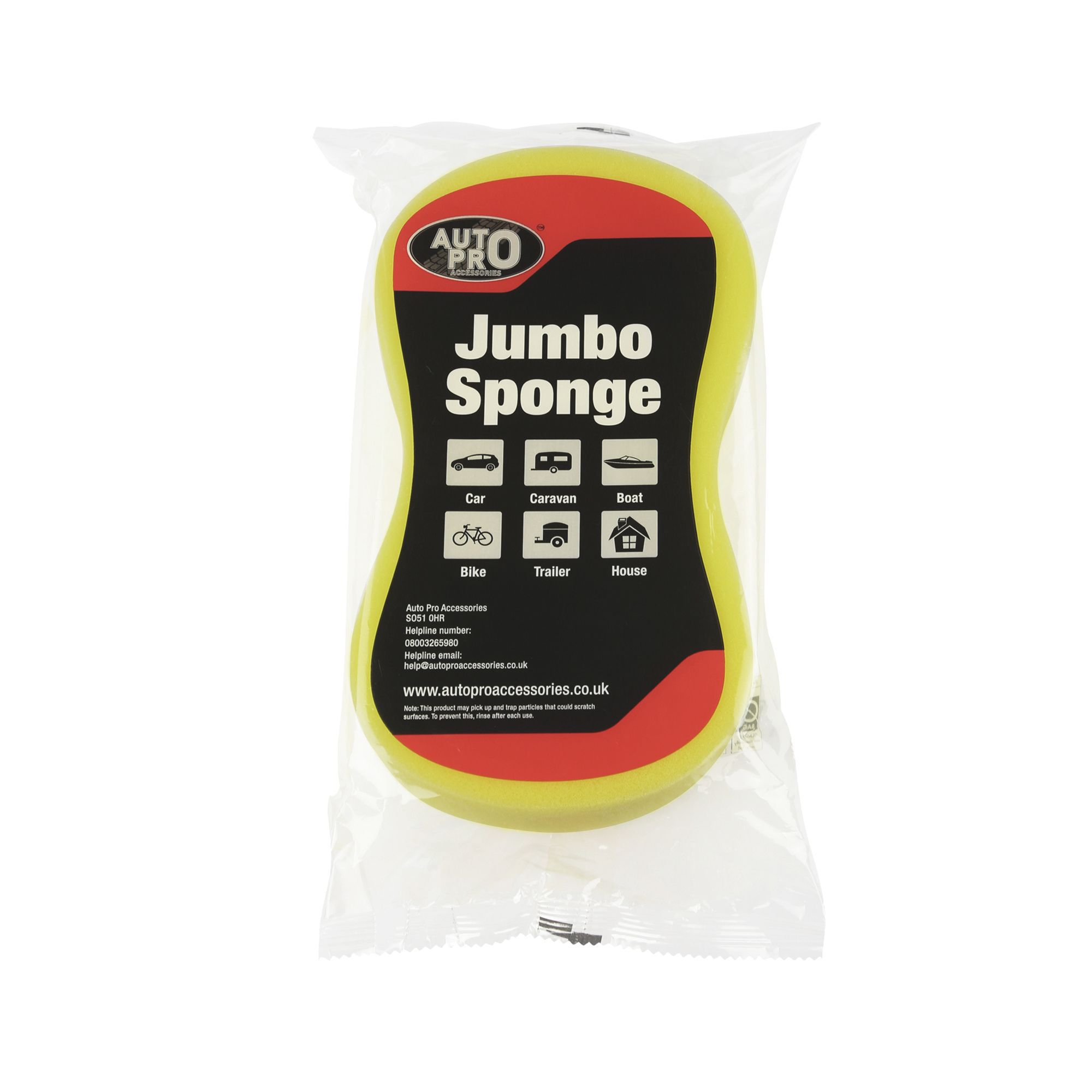 Autopro Accessories Microfibre Jumbo Sponge Departments
