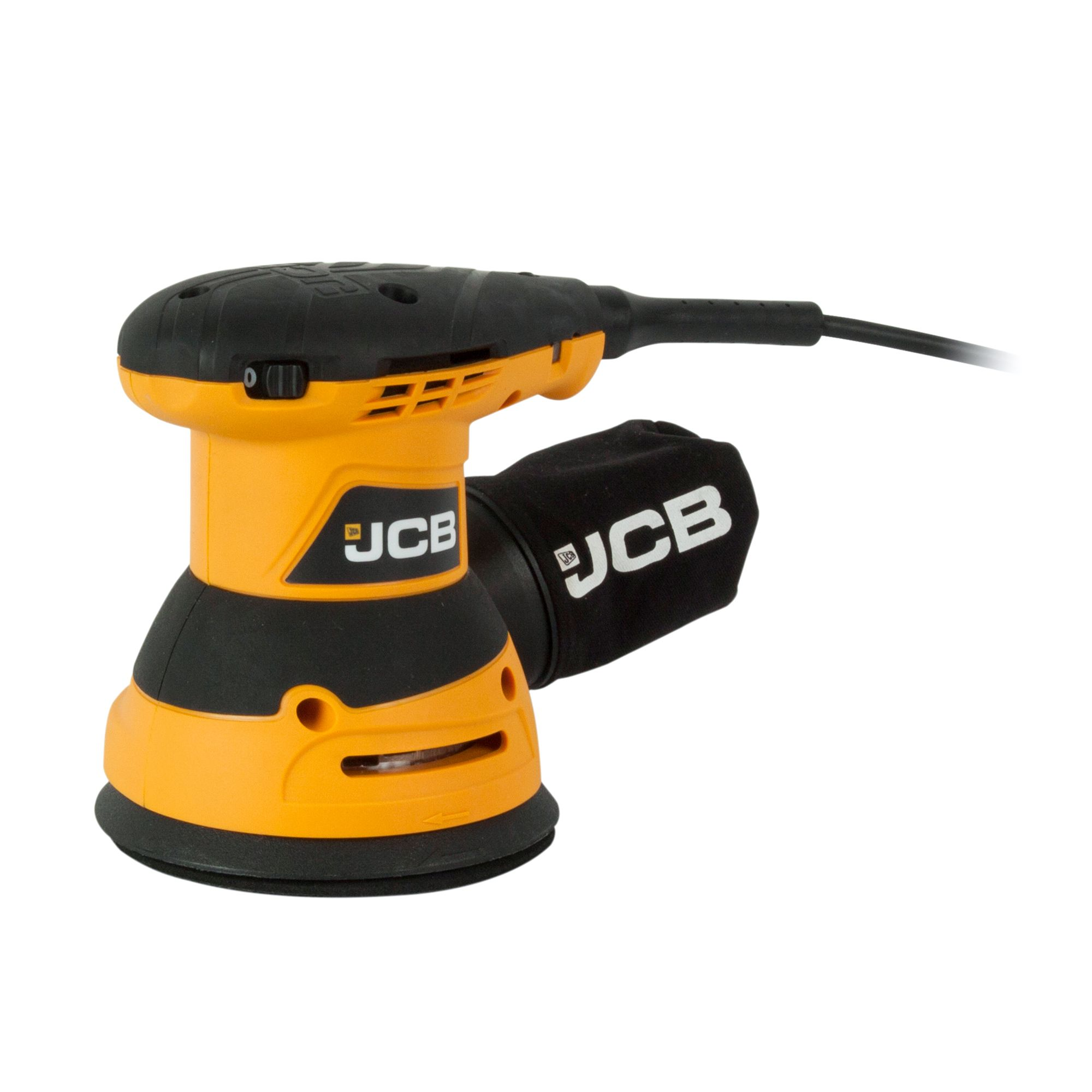 JCB Corded 320W 230-240V Orbital sander JCB-RO125 | Departments | DIY at B&Q