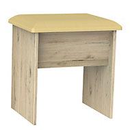 Swift Como Grey Oak effect Dressing table stool (H)510mm (W)480mm (D)380mm