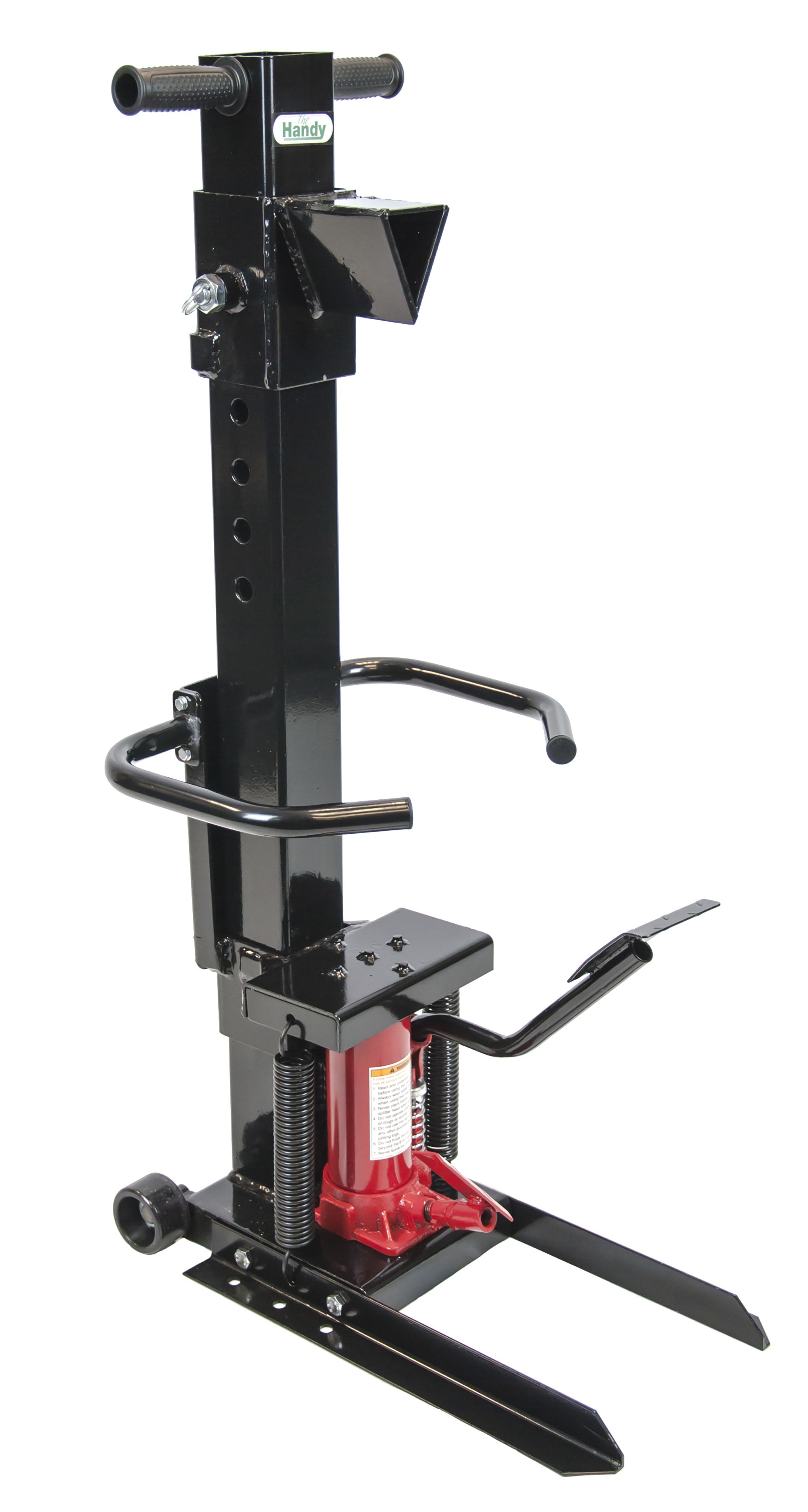Handy Manual Log Splitter Departments Diy At B Amp Q