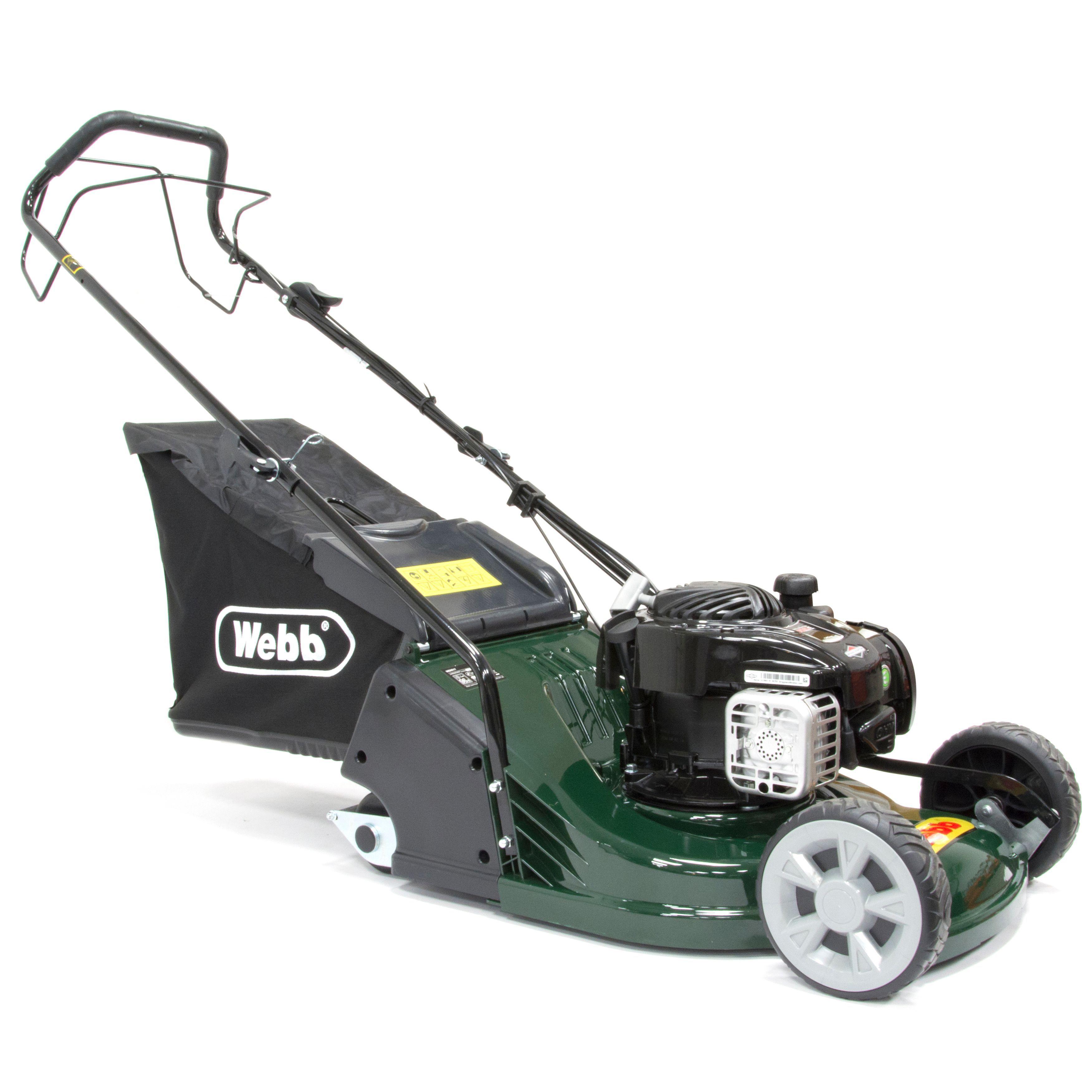 Webb Rr17sp Petrol Lawnmower Departments Diy At B Amp Q