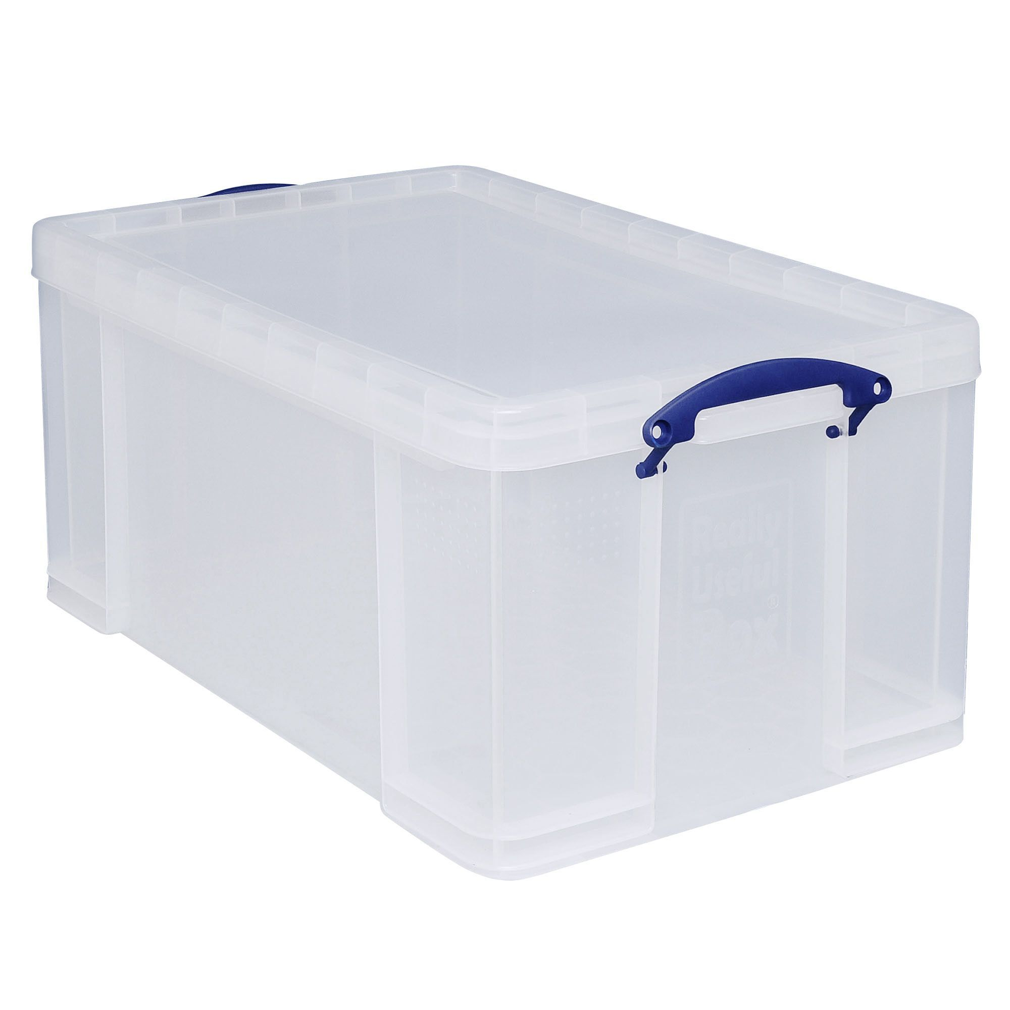 Really Useful Clear 64l Plastic Storage Box Departments