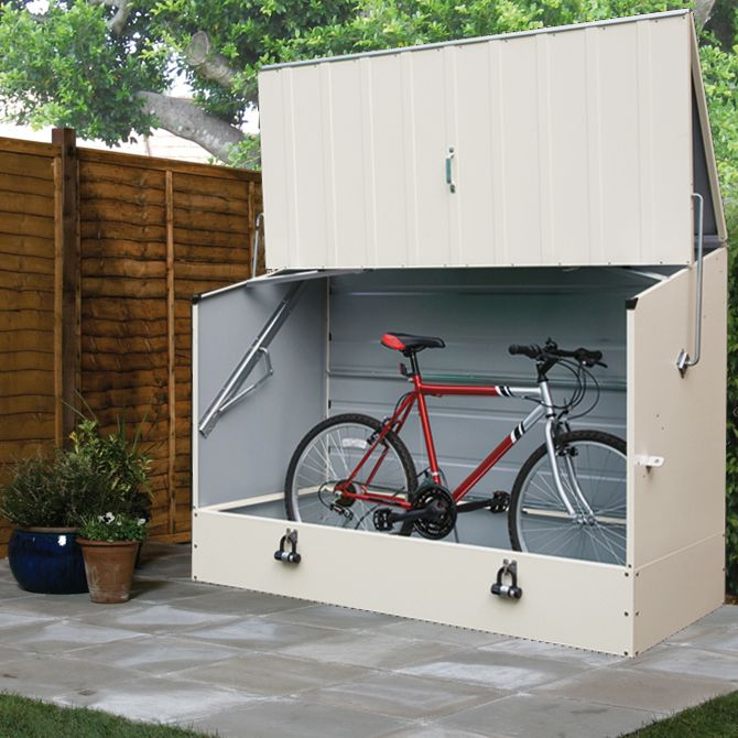 Protect A Cycle Pent Metal Bike Store | Departments | DIY ...