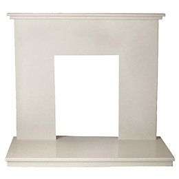 Dune Micro Marble Fire Surround Set