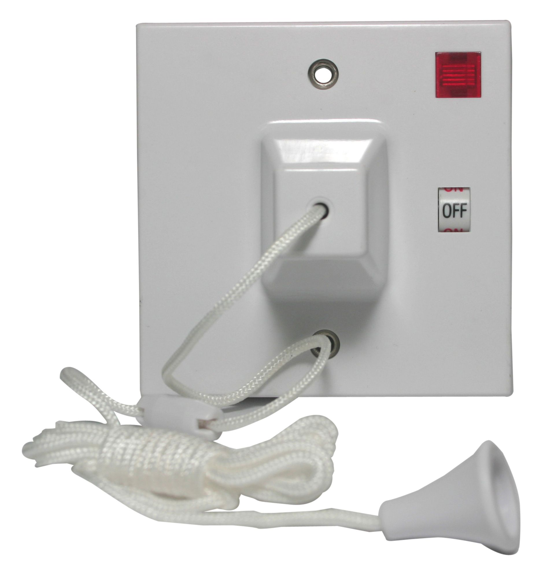 Propower 45A 2-Way White Pull Switch   Departments   DIY at B&Q