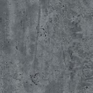 Splashwall Grey Stone Single Shower Panel (L)2420mm (W)1200mm (T)11mm