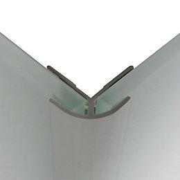 Splashwall Mist Shower Panelling External Corner (L)2440mm (T)4mm