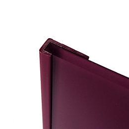 Splashwall Violet Shower Panelling End Cap (L)2440mm (T)4mm