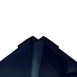 Splashwall Royal Blue Shower Panelling Internal Corner (L)2440mm