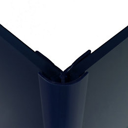 Splashwall Royal Blue Shower Panelling External Corner (L)2440mm
