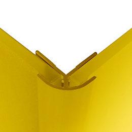 Splashwall Lemon Shower Panelling External Corner (L)2440mm