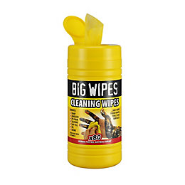 Big Wipes Cleaning Wipes, pack of 80