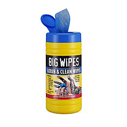 Big Wipes Scrub & clean Wipes, pack of