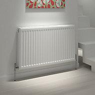 Kudox Type 21 double plus Panel radiator White, (H)600mm (W)900mm