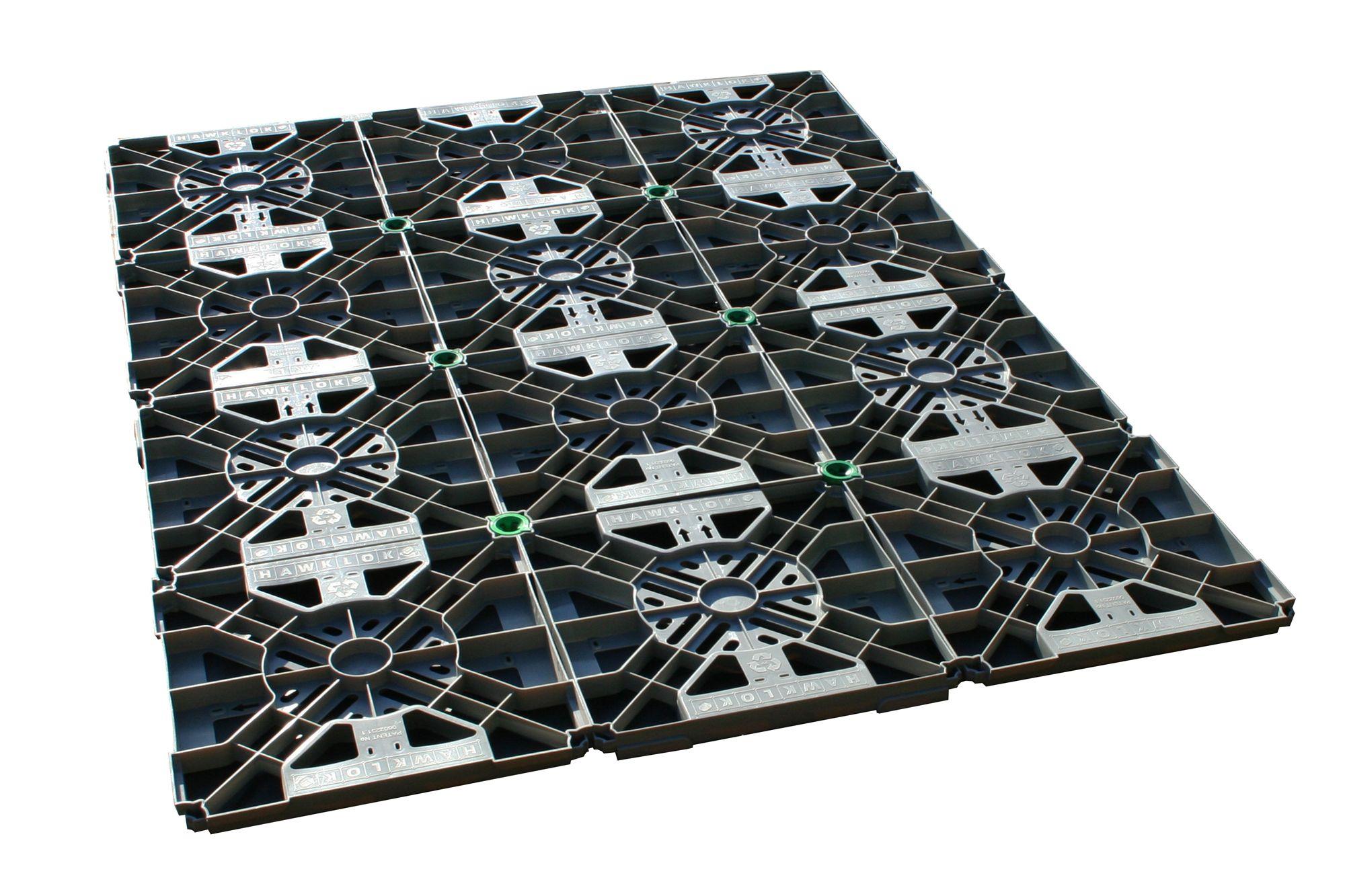 6x4 Plastic Hawklok Shed base | Departments | DIY at B&Q