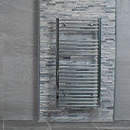 Splitface White Stone effect Linear interlocking Marble Border