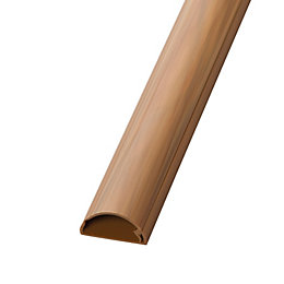 D-Line 30mm x 2M Wood-Effect Trunking