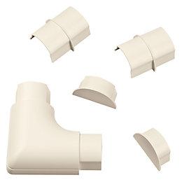D-Line ABS Plastic Magnolia Maxi Trunking Accessories (W)60mm