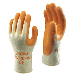 Showa Builders Grip Gloves, Extra Large, Pair