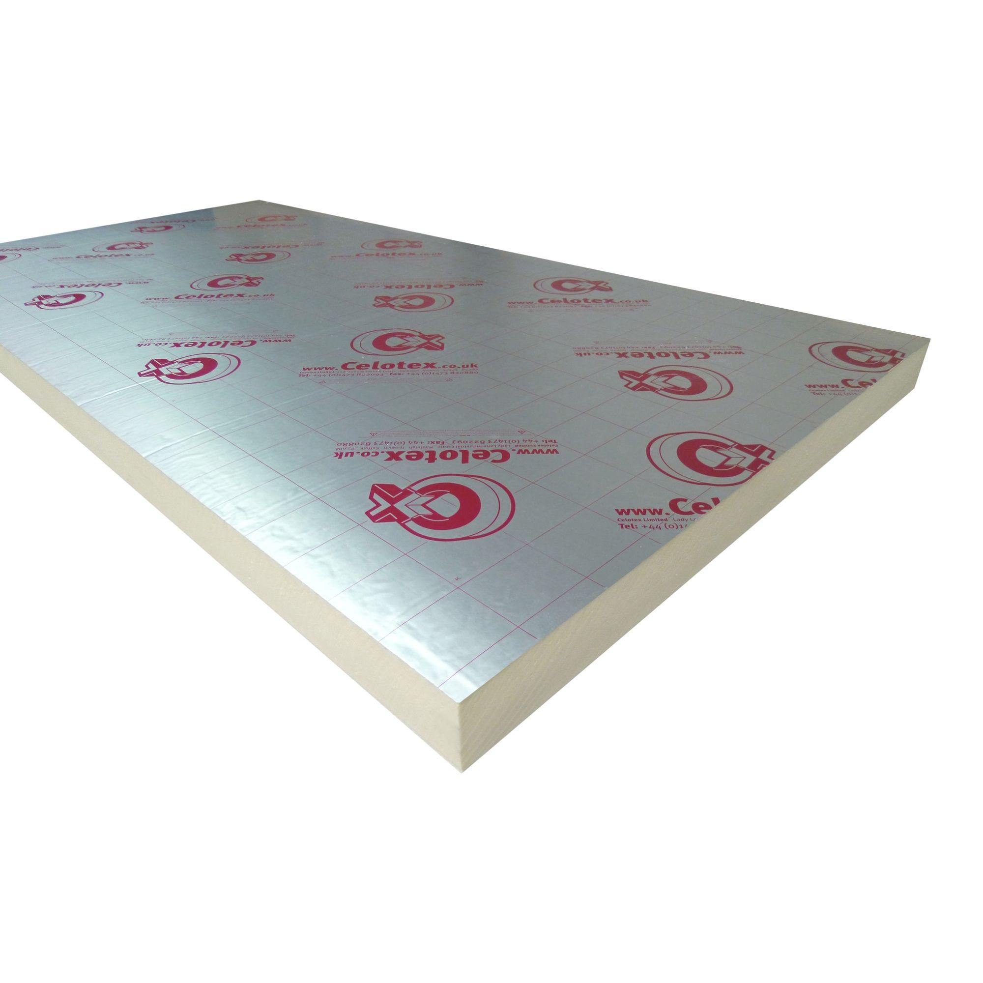 Celotex Cw4000 Insulation Board 1200mm 450mm 50mm