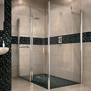 Aquadry walk-in shower screen
