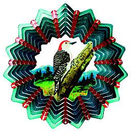 Active Woodpecker Wind spinner
