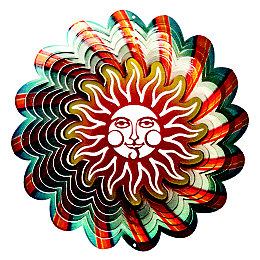 Active Multicolour Sun Wind Spinner