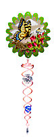 Active Butterfly & crystal Twister ornament