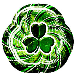 Active Shamrock Wind Spinner