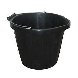 Active Black Plastic 13500 ml Multi Purpose Bucket
