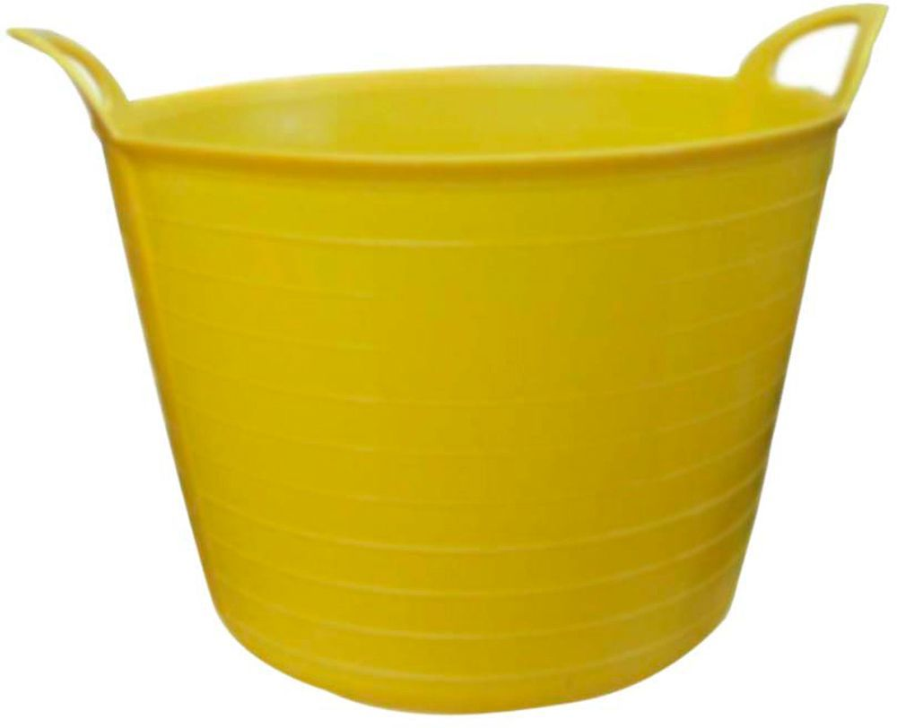 Large Yellow Flexi Tub Departments Diy At B Q