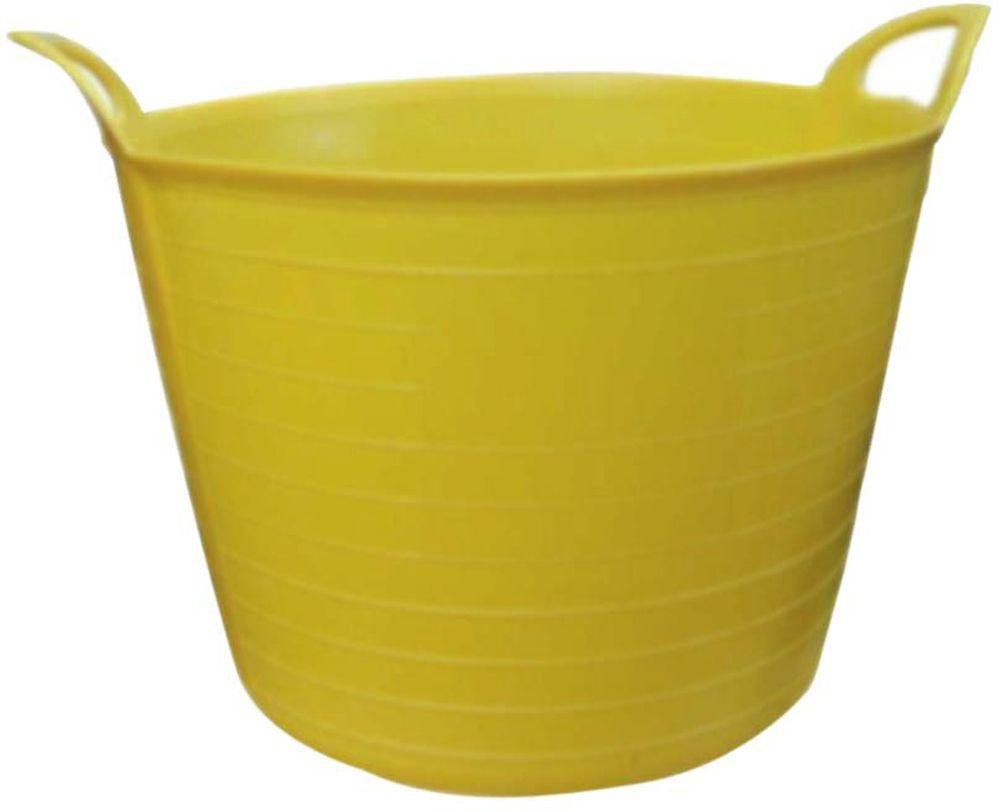 PACK OF 2 25 L Flexi Tub Garden Bucket Quality Multi Purpose Storage Basket Building Work