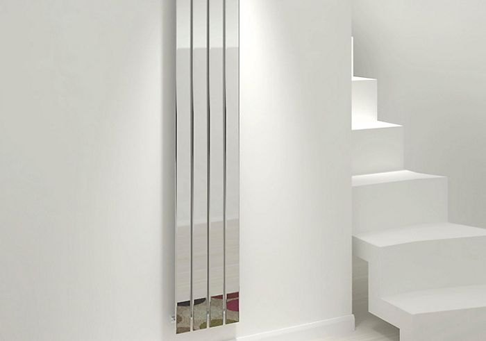 Mirror finish radiator