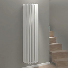 Kudox Tallos Vertical Radiator White (H)1800 mm (W)500