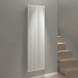 Kudox Xylo Vertical Radiator White (H)1800 mm (W)500