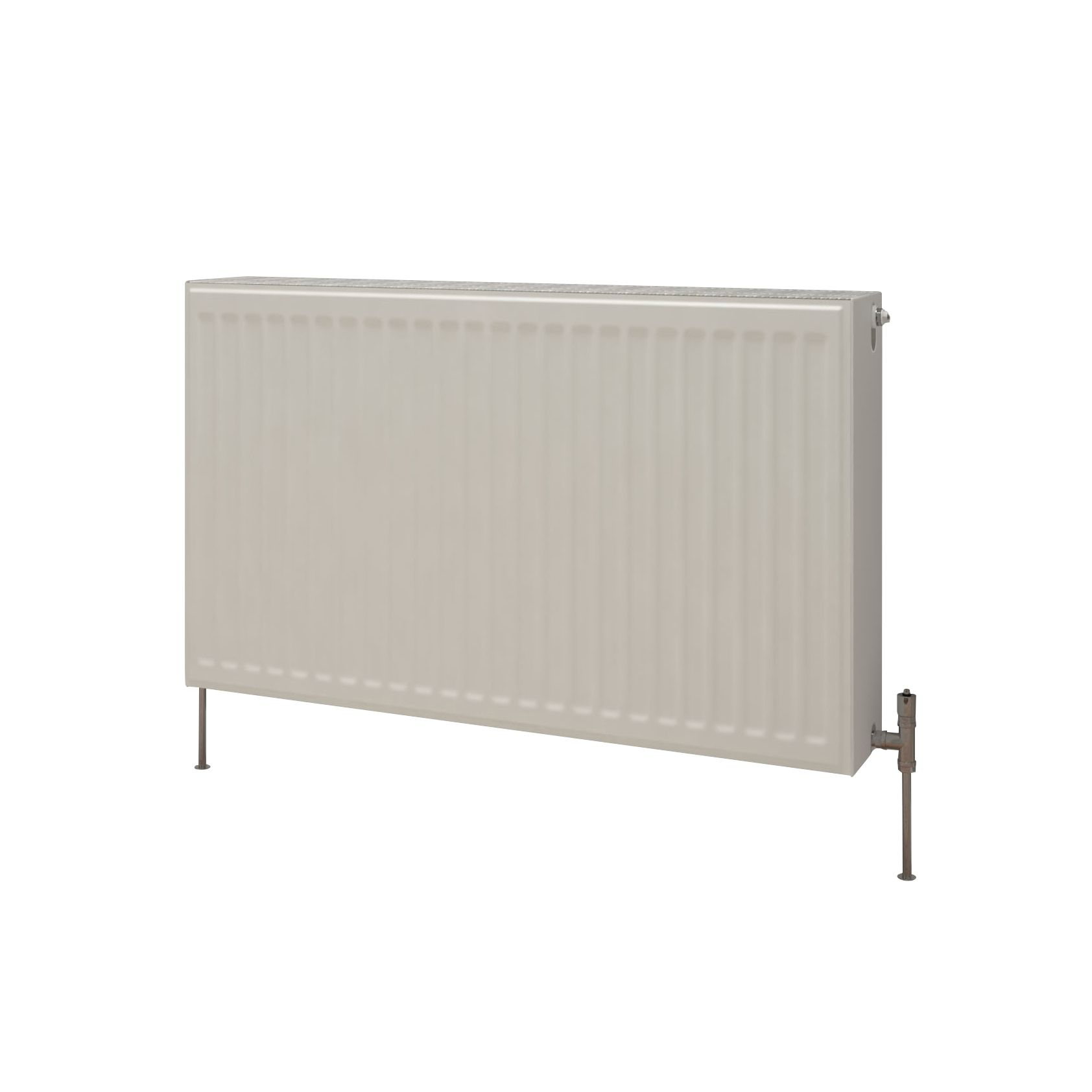 Kudox Premium Double Radiator Gloss (H)400 mm (W)900